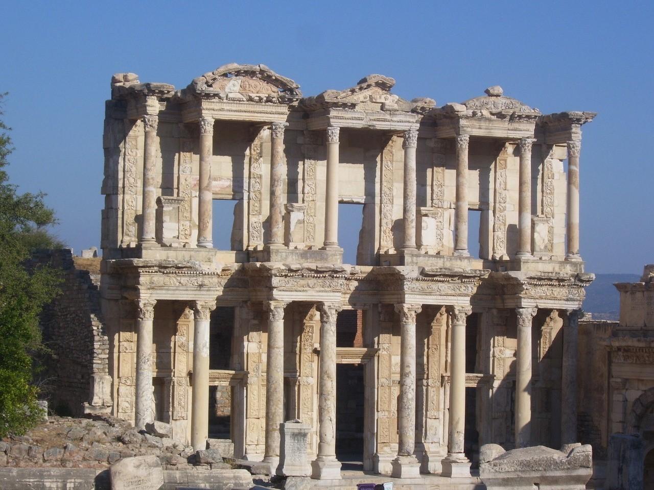 Zabytki starożytnego Efezu